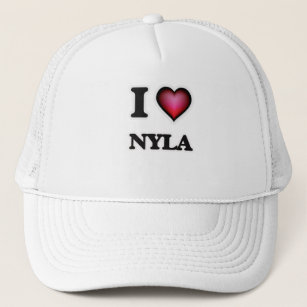 8a997dbf866 I Love Nyla Trucker Hat