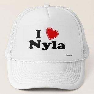 2206646be5f I Love Nyla Trucker Hat