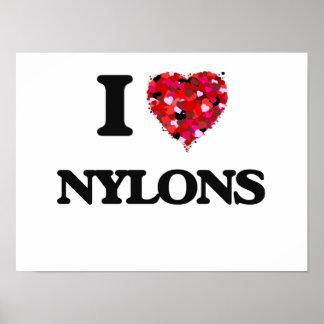I Love Nylons Poster