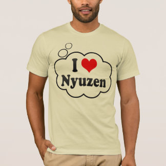 I Love Nyuzen, Japan. Aisuru Nyuzen, Japan T-Shirt