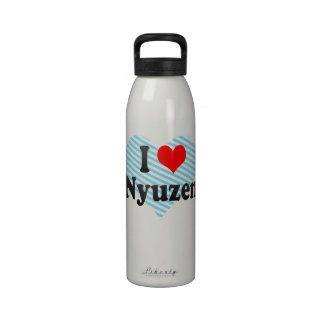 I Love Nyuzen, Japan. Aisuru Nyuzen, Japan Drinking Bottles