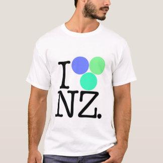I Love NZ blue T-Shirt