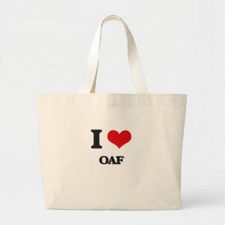 I Love Oaf Canvas Bag