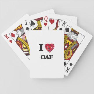 I Love Oaf Poker Deck