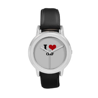 I Love Oaf Wristwatch