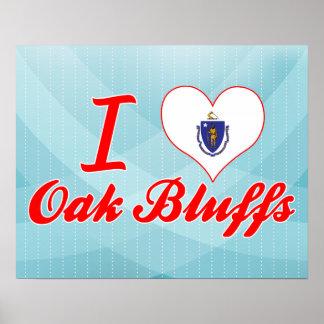 I Love Oak Bluffs, Massachusetts Print