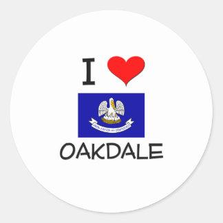 I Love OAK GROVE Louisiana Sticker