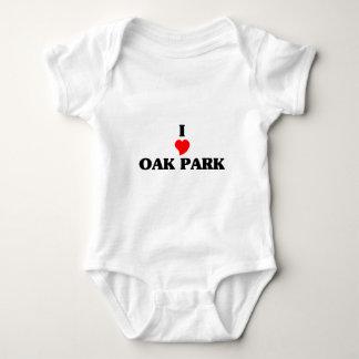 I love Oak Park Il Baby Bodysuit