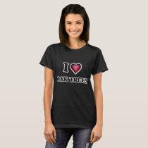 I Love Oak Trees T-Shirt