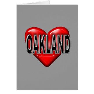 I Love Oakland Cards