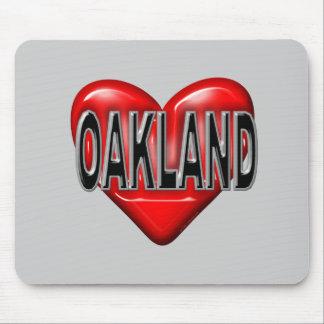 I Love Oakland Mouse Pad