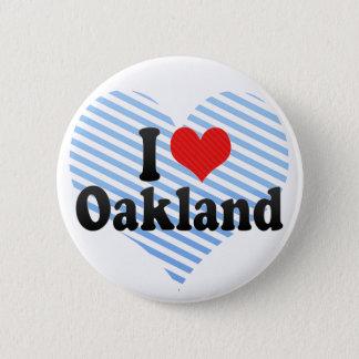 I Love Oakland Pinback Button