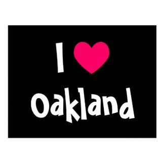 I Love Oakland Postcard