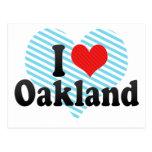 I Love Oakland Postcards