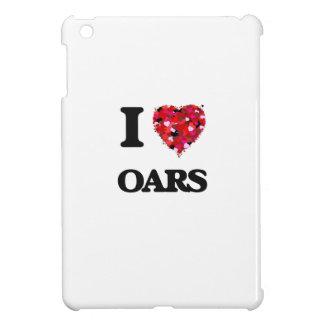 I Love Oars iPad Mini Cases
