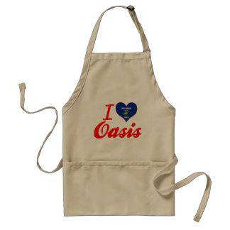 I Love Oasis, Wisconsin Adult Apron