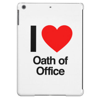 i love oath of office iPad air case