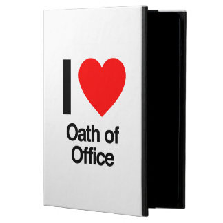 i love oath of office iPad air covers