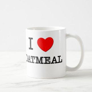 I Love Oatmeal Coffee Mug