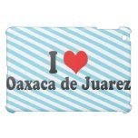 I Love Oaxaca de Juarez, Mexico iPad Mini Covers