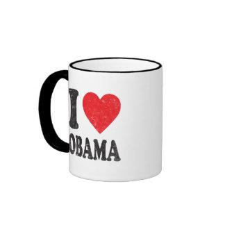 I Love Obama 2012 Coffee Mug