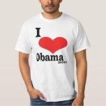 I Love Obama 2012 Tee Shirt