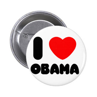 i love obama 2 inch round button