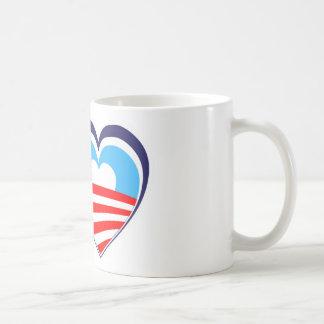 I love Obama - Elect Obama Now Coffee Mug