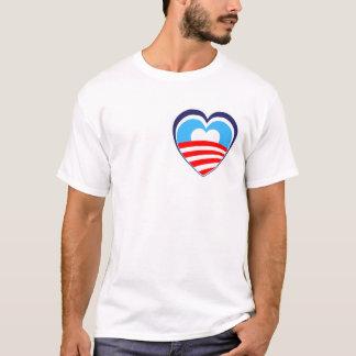 I love Obama - Elect Obama Now T-Shirt