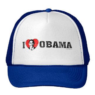 I Love Obama Hats