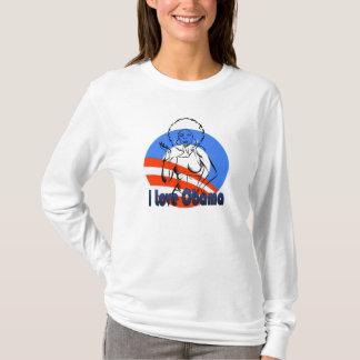 I Love Obama Long Sleeve T-Shirt