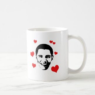 I Love Obama Coffee Mug