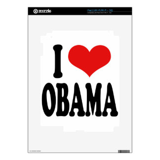 I Love Obama Skin For The iPad 2