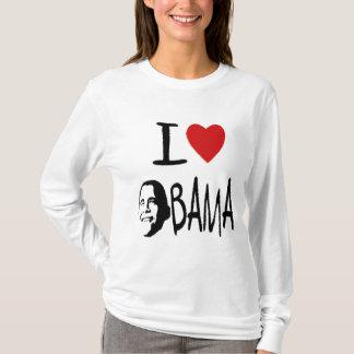 I love obama womens hoodie