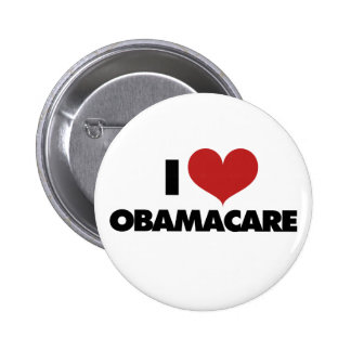 I Love Obamacare Pinback Buttons