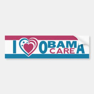 I Love ObamaCare Car Bumper Sticker