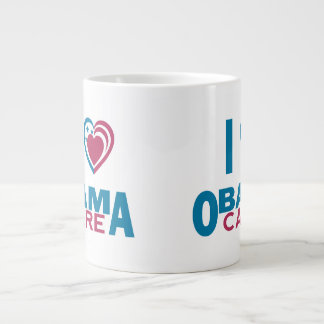 I Love ObamaCare Giant Coffee Mug