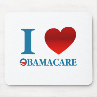 I Love Obamacare Mouse Pad
