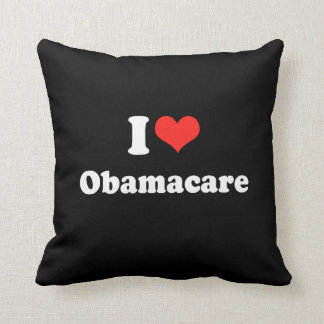 I LOVE OBAMACARE.png Pillow