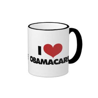 I Love Obamacare Ringer Mug