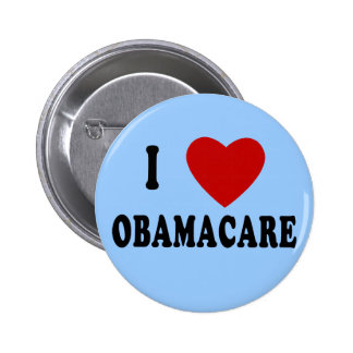 I LOVE OBAMACARE T-shirts, Hoodies, Mugs 2 Inch Round Button