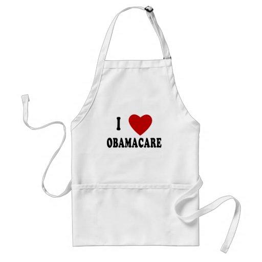 I LOVE OBAMACARE T-shirts, Hoodies, Mugs Adult Apron
