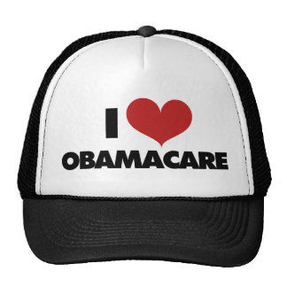 I Love Obamacare Trucker Hat