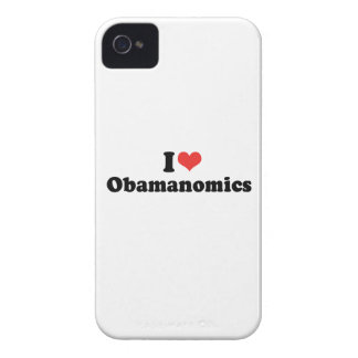 I LOVE OBAMANOMICS - .png iPhone 4 Covers