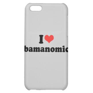 I LOVE OBAMANOMICS - .png iPhone 5C Covers
