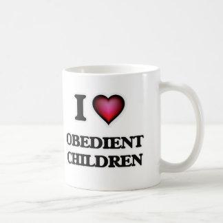 I Love Obedient Children Coffee Mug