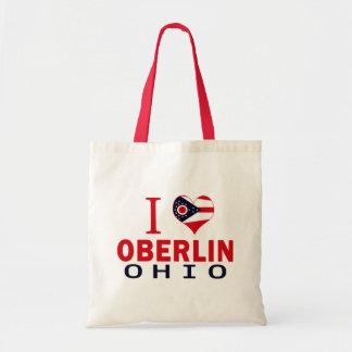 I love Oberlin, Ohio Canvas Bag