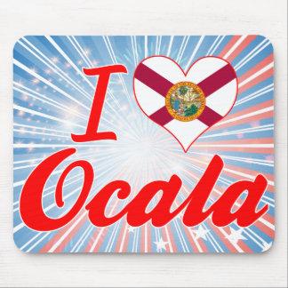 I Love Ocala, Florida Mousepads