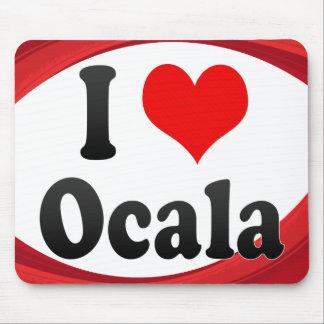 I Love Ocala, United States Mouse Pads