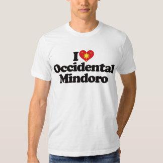I Love Occidental Mindoro T-shirt